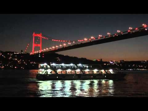 Bridges of Bosphorus (Istanbul) By Night