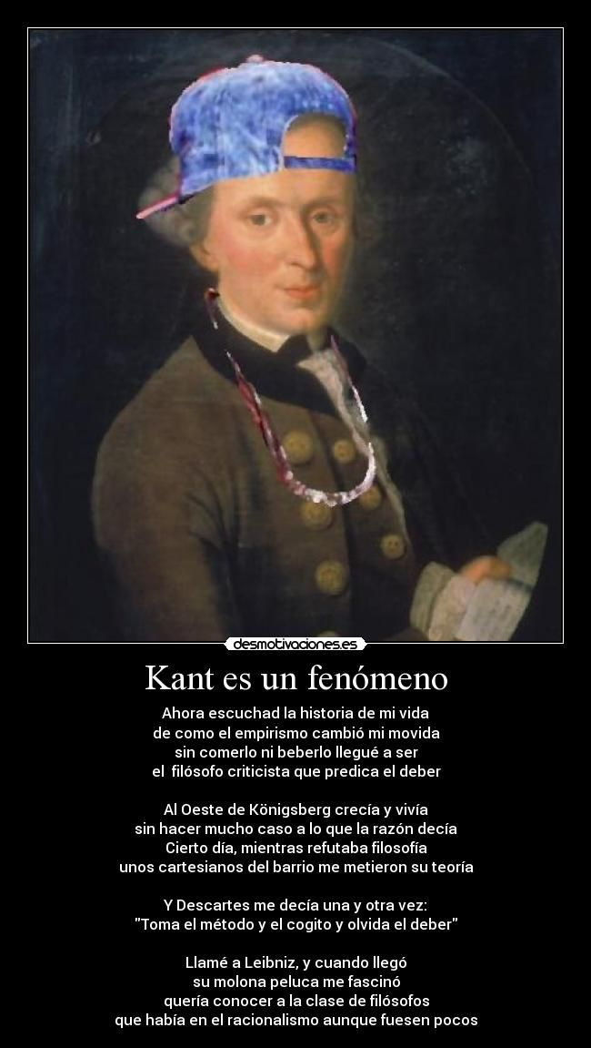 I Kant stop laughing