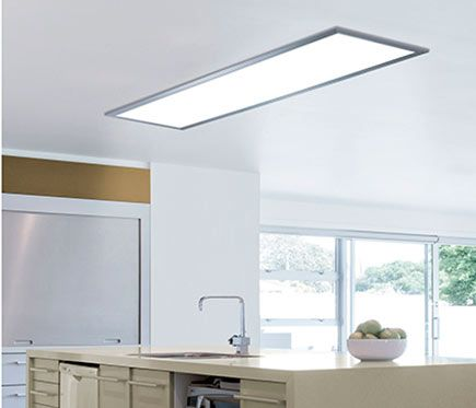 Panel led inteligente inspire gdansk rectangular - Iluminacion cocina leroy merlin ...