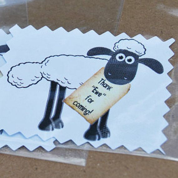 Shaun the Sheep Thank You Shaun the Sheep Party by PartyAtYourDoor