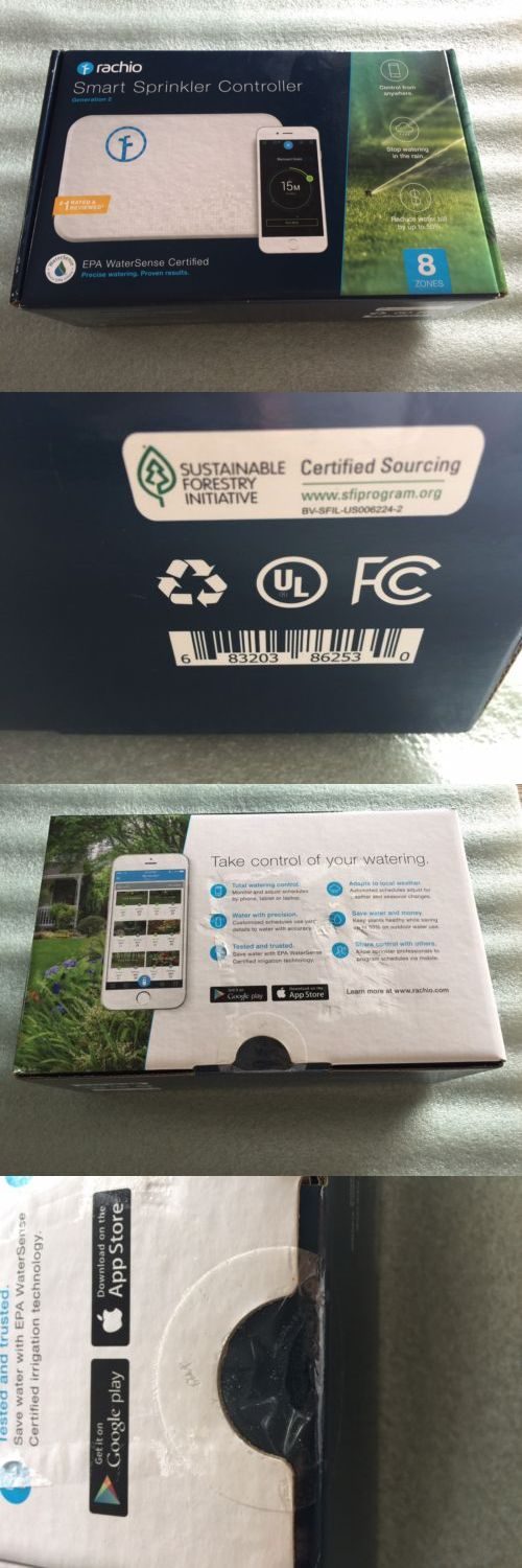 Watering Timers and Controllers 75672: Rachio Smart Sprinkler Controller 8 Zone 2Nd Generation Alexa New Sealed -> BUY IT NOW ONLY: $164.99 on eBay!