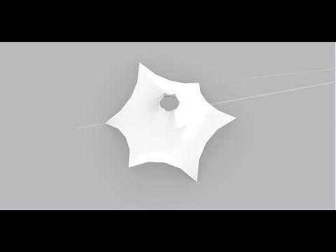 02 - Grasshopper 3d - speed modeling - tensile structure