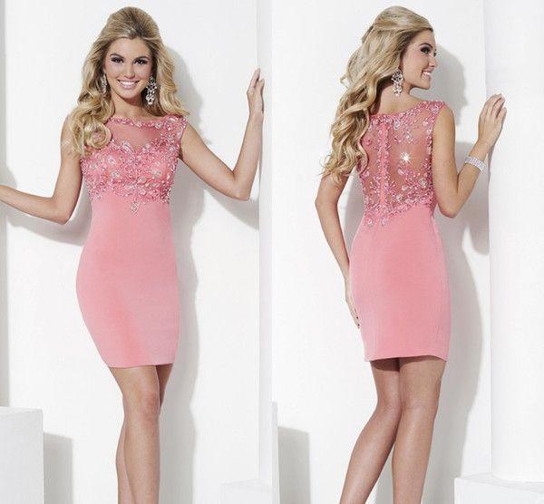 17 Best ideas about Pink Cocktail Dress on Pinterest | Vestidos ...