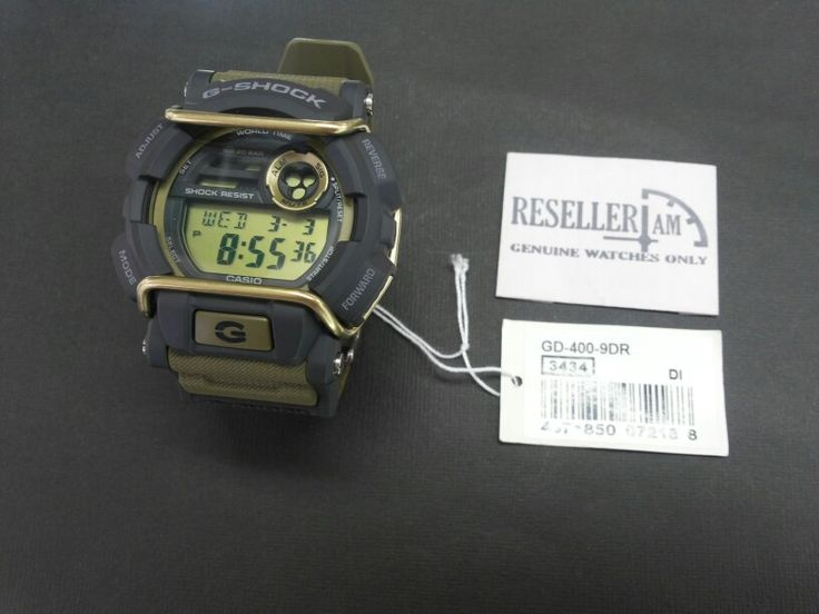 Casio G-shock GD-400-9