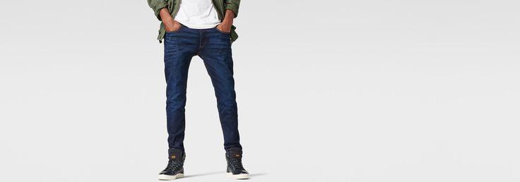 G-Star RAW | Heren | Jeans | 3301 Slim Jeans , Dk Aged | 33-34