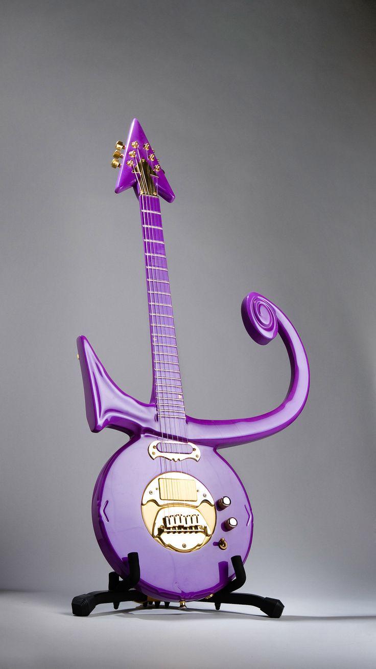 Purple Prince guitar -