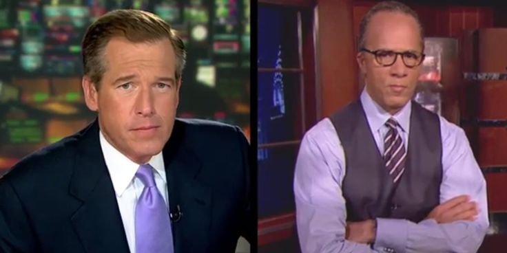 HAHA!   Brian Williams In 'Rapper's Delight' Mashup With Lester Holt (VIDEO)