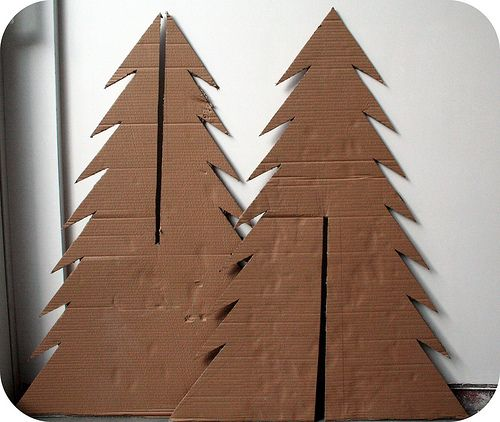 How to make a cardboard Christmas tree / Hoe maak je een k…   Flickr