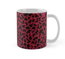 """Red Mosaic of Love"" #Mugs   #christmas #giftideas #idearegalo #design #tazze #pattern #redbubble #mosaic #love #giraffe #coffeelovers #coffee #teamilk #tea"