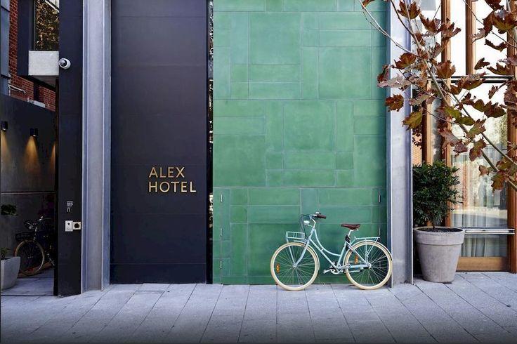 Color Mix in Perth: The Alex Hotel: Remodelista