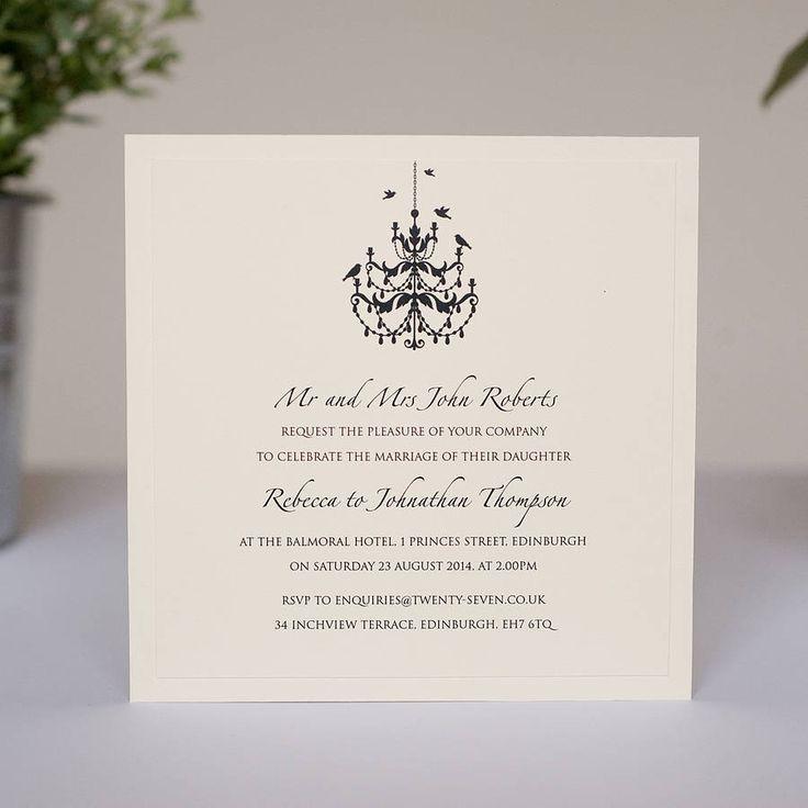 wedding invitations chandelier Google Search 50