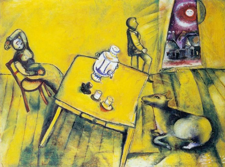 Marc Chagall - The Yellow Room