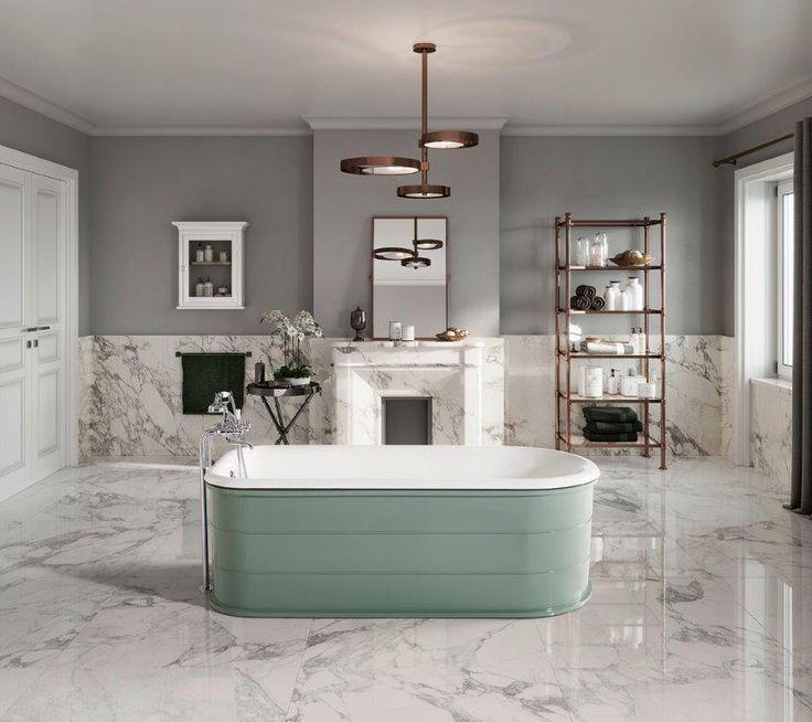 33 best baignoires en fonte bleu provence images on. Black Bedroom Furniture Sets. Home Design Ideas