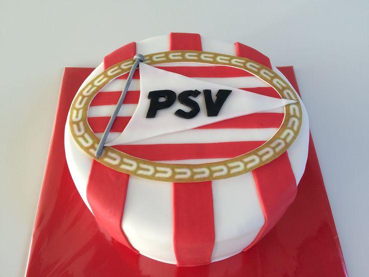 PSV voetbal taart