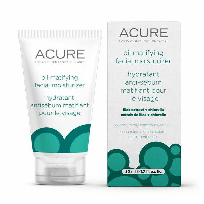 Acure Oil Matifying Facial Moisturizer