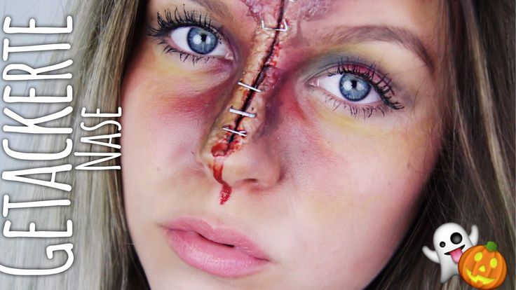 Getackerte Nase - HALLOWEEN Make-up | Dagi Bee
