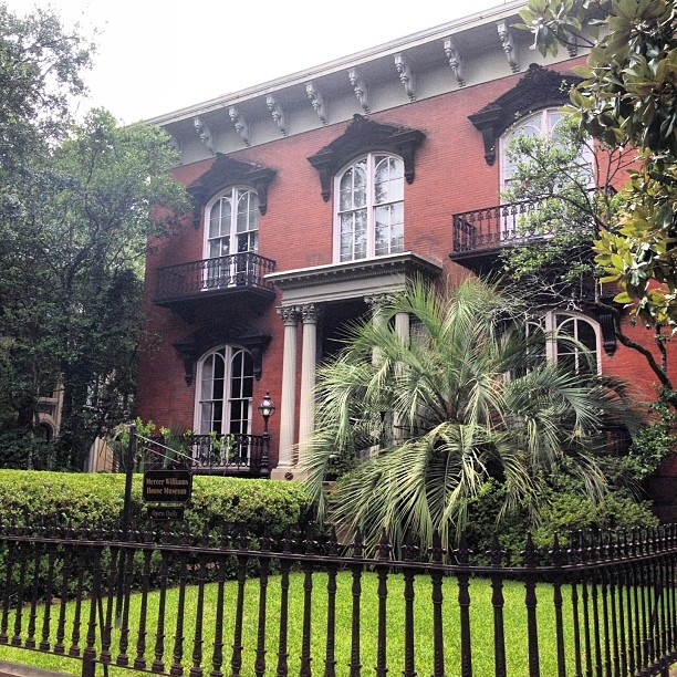Mercer House in Savannah | Midnight in the Garden of Good & Evil