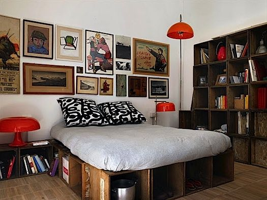 Top 25+ best Crate bed ideas on Pinterest   Pallet bed frames, Cool bed  frames and Cheap cabin beds - Top 25+ Best Crate Bed Ideas On Pinterest Pallet Bed Frames