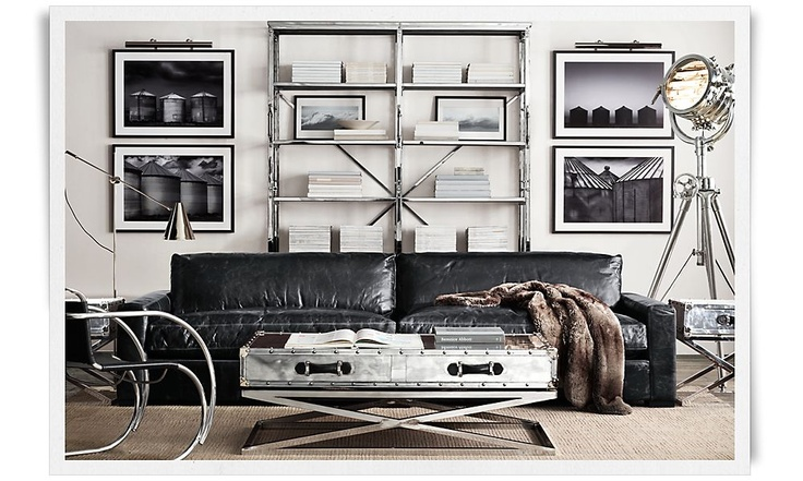 Restoration hardware couch