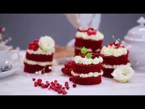 "Rezept: Mini Törtchen ""rot-weiß-rot"""