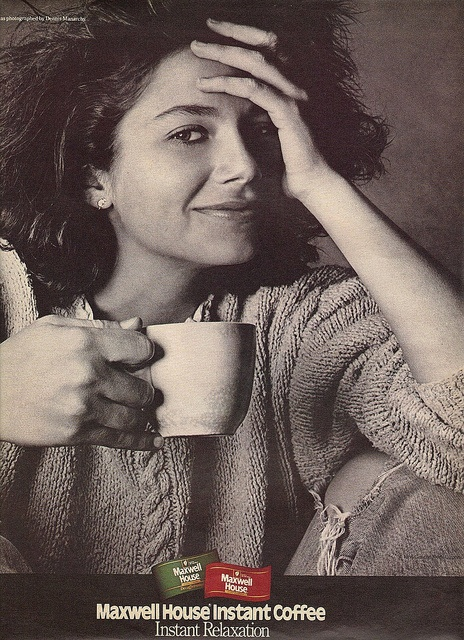 Maxwell House Ad from 1986 Justine Bateman