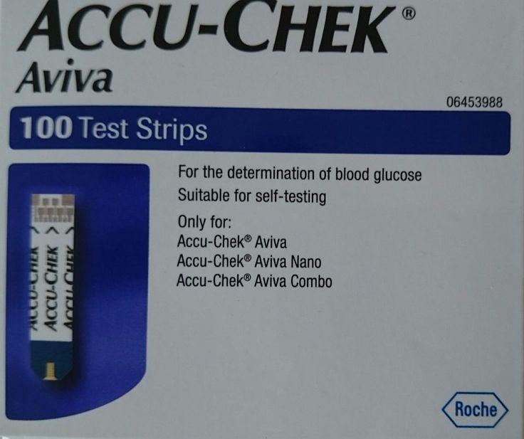 ACCU-CHEK AVIVA 100 TEST STRIPS +100 Accu-Chek Softclix Lancets