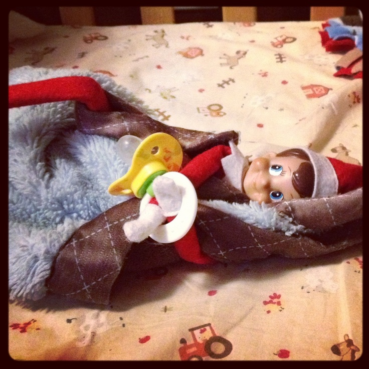 Elf on the self- Day 1: Nap time!!