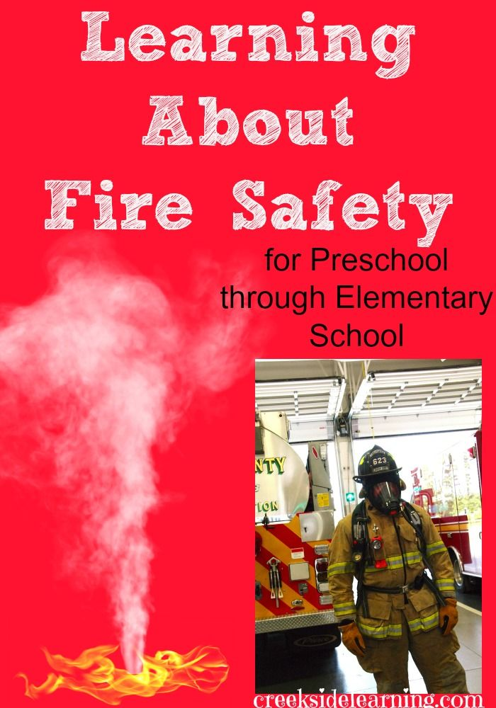 Fire Safety Week Activities from Creekside Learning