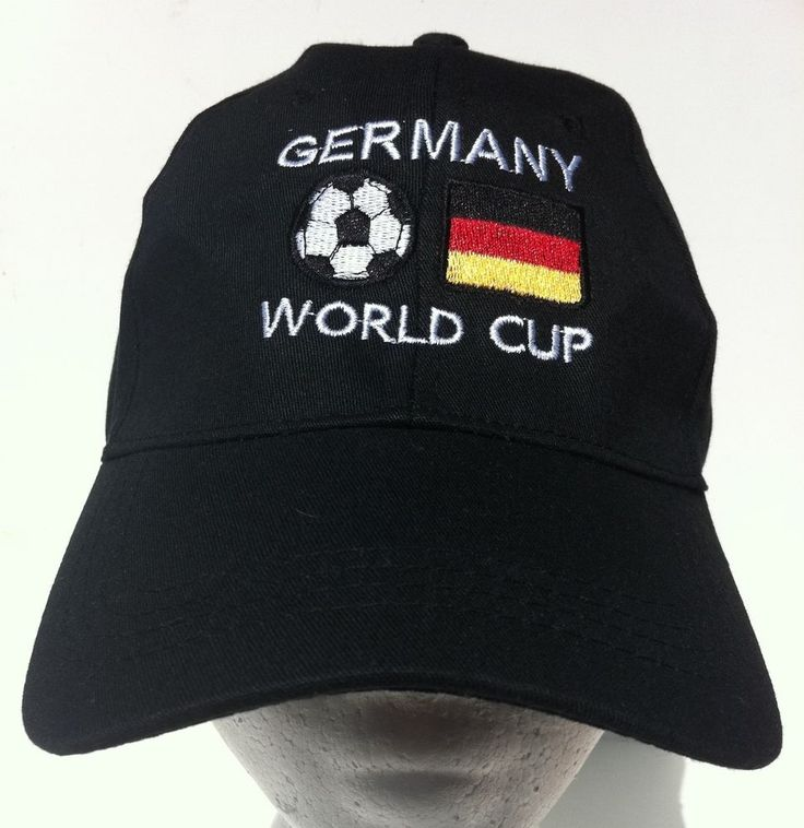 GERMANY GERMAN FLAG EURO WORLD SOCCER SPORTS BASEBALL CAP HAT CASQUETTE #germany #germanybaseballcap #germanyhat #soccer #baseballcap