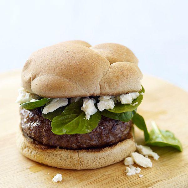 Griekse kaasburger #WWrecept #WeightWatchers