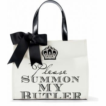 A Lady Always Travels Light Sir James Square Tote. I love the new line, My Flat in London at Brighton!