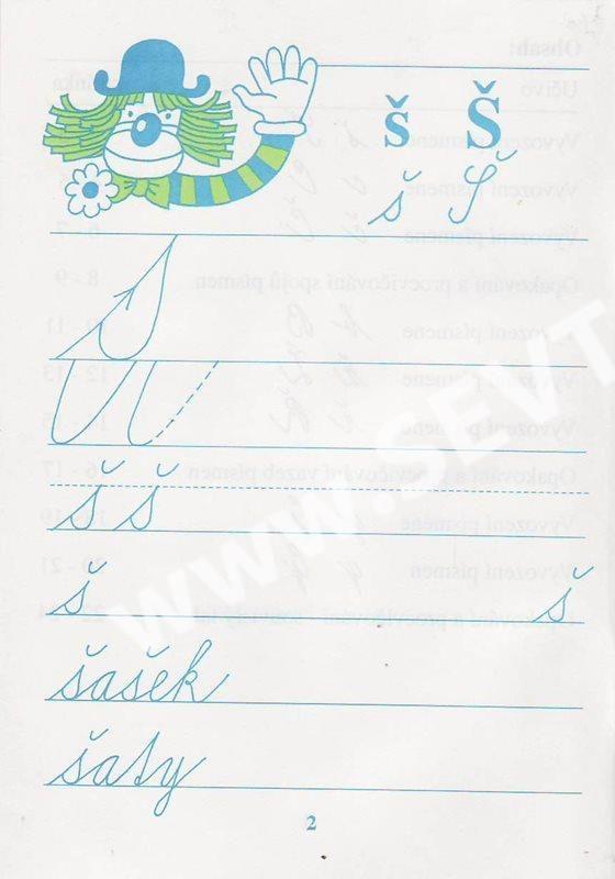 Kreslím si a píšu 6 - písanka - Vančurová - SEVT