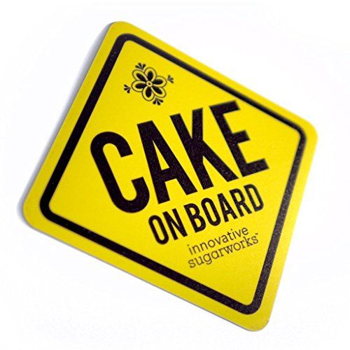 #Innovative #Sugarworks #Cake on #Board #Car #Magnet, #Yellow Adheres to cars without leaving any marks, will not damage paint; Made in USA Attaches to most metal surfaces: cars, refrigerators, dishwashers, filing cabinets, lockers, washers, dryers and more! Easily removed and re-applied https://food.boutiquecloset.com/product/innovative-sugarworks-cake-on-board-car-magnet-yellow/