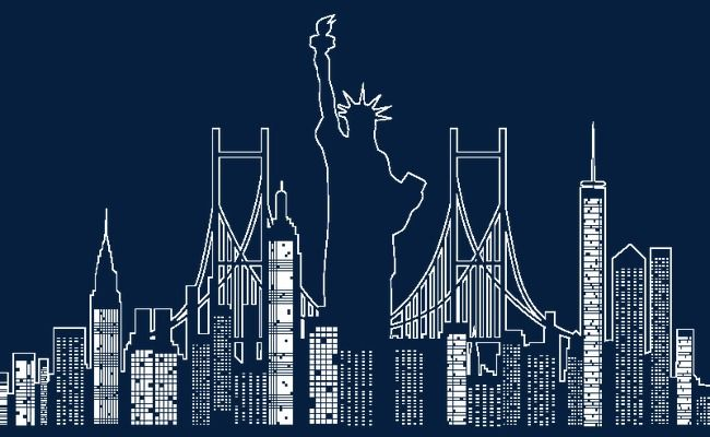 Creative New York City Silhouette Vector Material New Vector City Vector Silhouette Vector Png Transparent Clipart Image And Psd File For Free Download City Silhouette City Vector Silhouette Vector