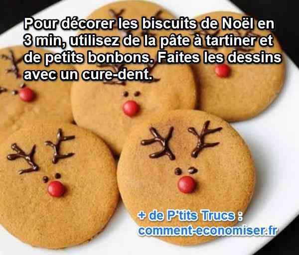 Pour faire en sorte que tous mes biscuits soient joliment décorés, sans que ça n'explose mon budget, voici ce que je fais :-)  Découvrez l'astuce ici : http://www.comment-economiser.fr/renne-deco-biscuits-noel.html?utm_content=buffer0df11&utm_medium=social&utm_source=pinterest.com&utm_campaign=buffer