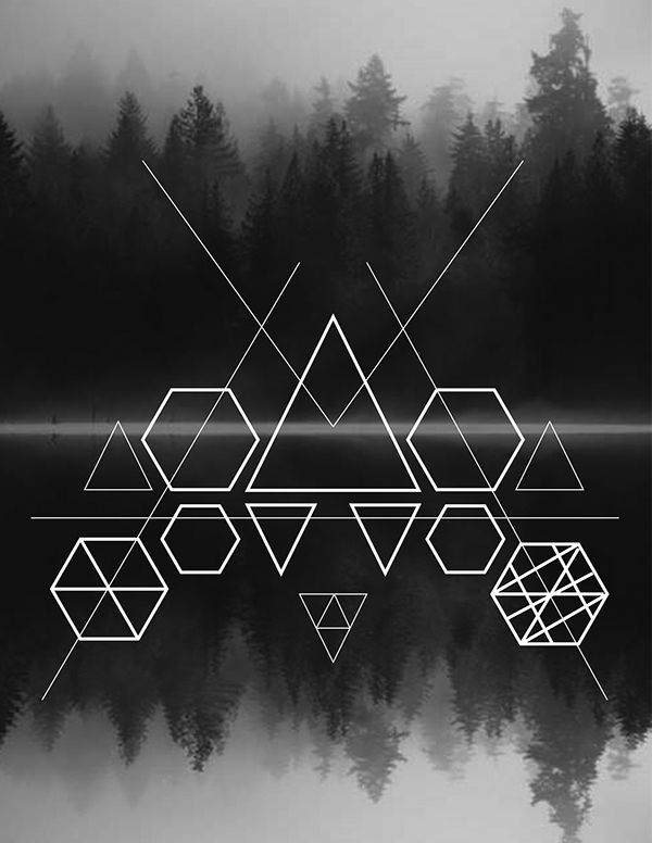This series of geometrical designs was a personal endeavor. It incorporates meaning of the actual sacred geometry and creates a different look at how to percieve it in a nature like setting.