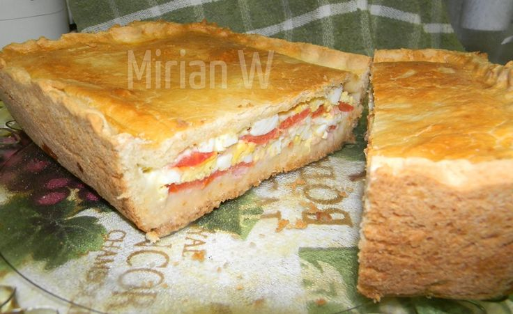 Una receta liviana para cenar, para acompañar una sopa (clado) o para un plato de entrada, MirianWilk comparte su receta de Fugazza