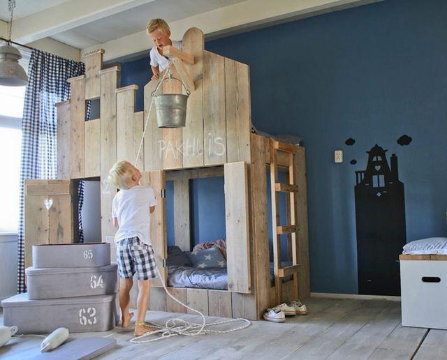 Inspirasjon til barnerommet   fem unike senger (franciskas vakre ...