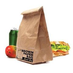 Brown Paper Bag Lunch Bag | Paper Products Online