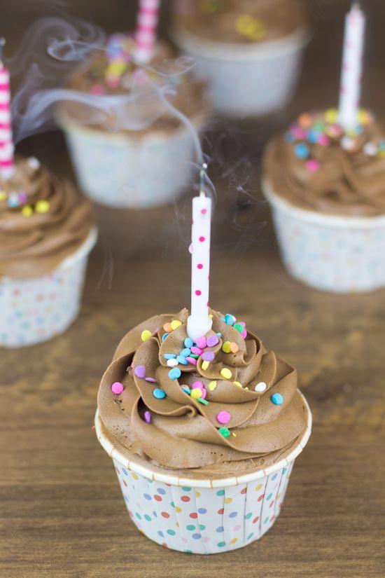 Cupcakes de Snickers.