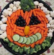 skeleton veggie tray - Google Search