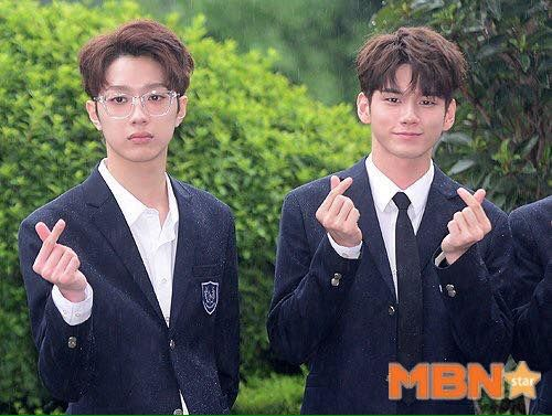 Lai Guanlin and Ong Sungwoo