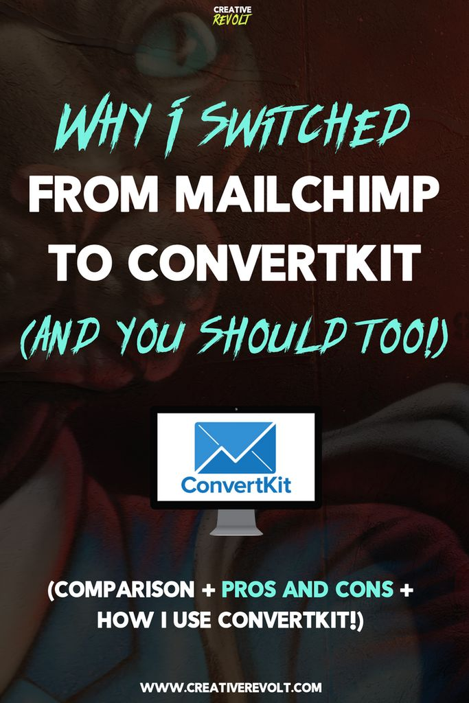 Looking for a ConvertKit review with a ConvertKit tutorial (how I use it!) and a ConvertKit vs. Mailchimp comparision? Well, then, you've just hit the motherfucking jackpot, friend. Click through and read! #ConvertKit #emailmarketing #emailnewsletter #MailChimp #bloggingtips