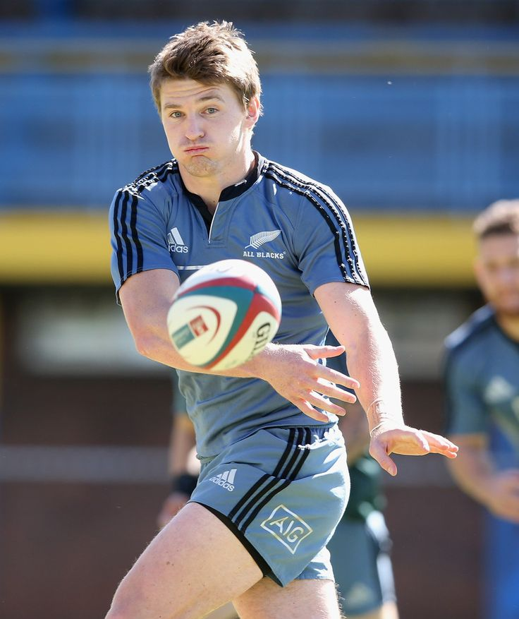 Beauden Barrett Photos: New Zealand Media Session
