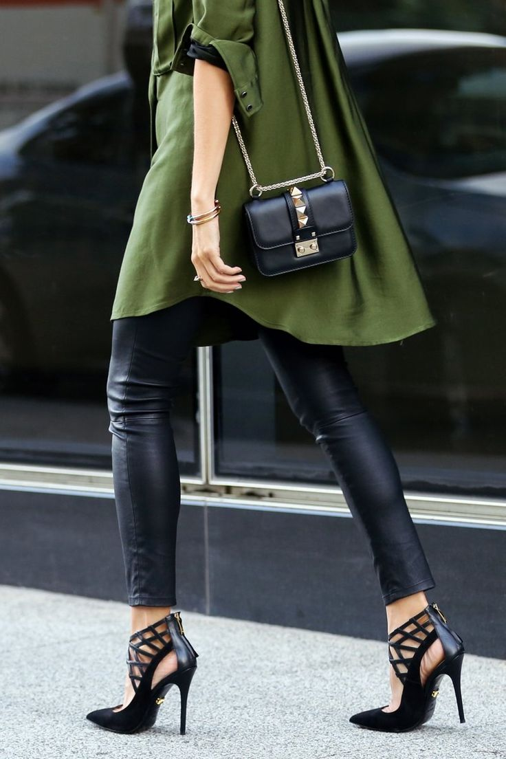 Erica Hoida of blog Fashionedchic.com in Monika Chiang shoes, Valentino Mico Lock Shoulder Bag, Marissa Webb dress