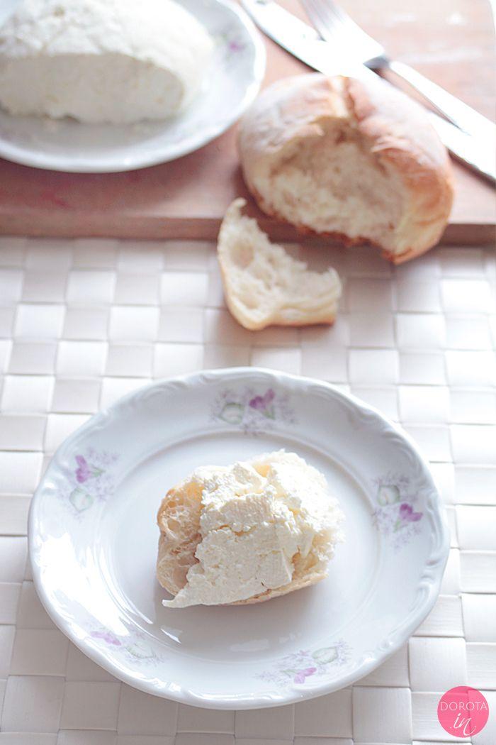 Twaróg czyli domowy biały ser - instrukcja krok po kroku jak zrobić twaróg w domu.  http://dorota.in/twarog-domowy-bialy-ser/  #food #przepis #kuchnia