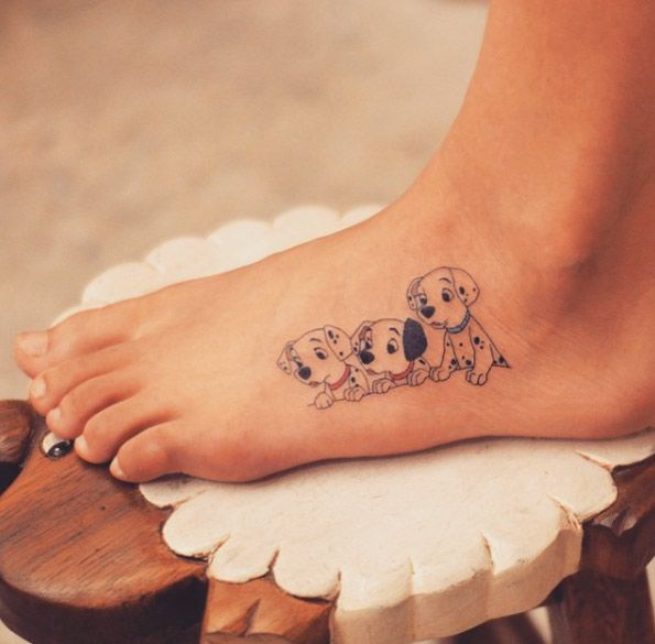 101 Dalmatians tattoo by Grain