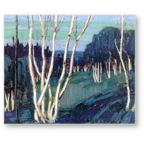 "Group of Seven painter, Tom Thomson - ""Silver Birches."""