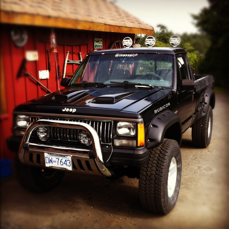 Nice Picture Of My Sons Beauty Jeep Comanche 1989 With6