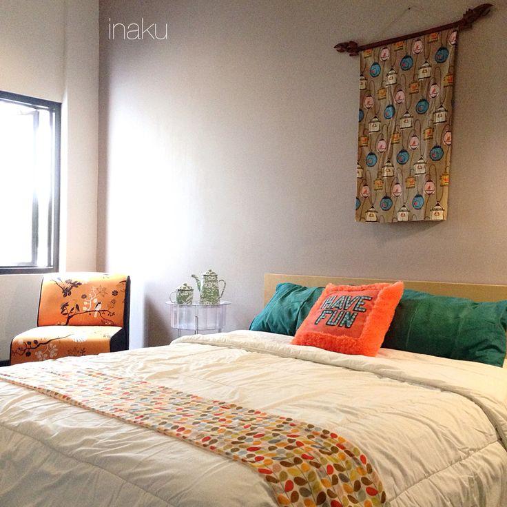 Orange n teal for my bedroom
